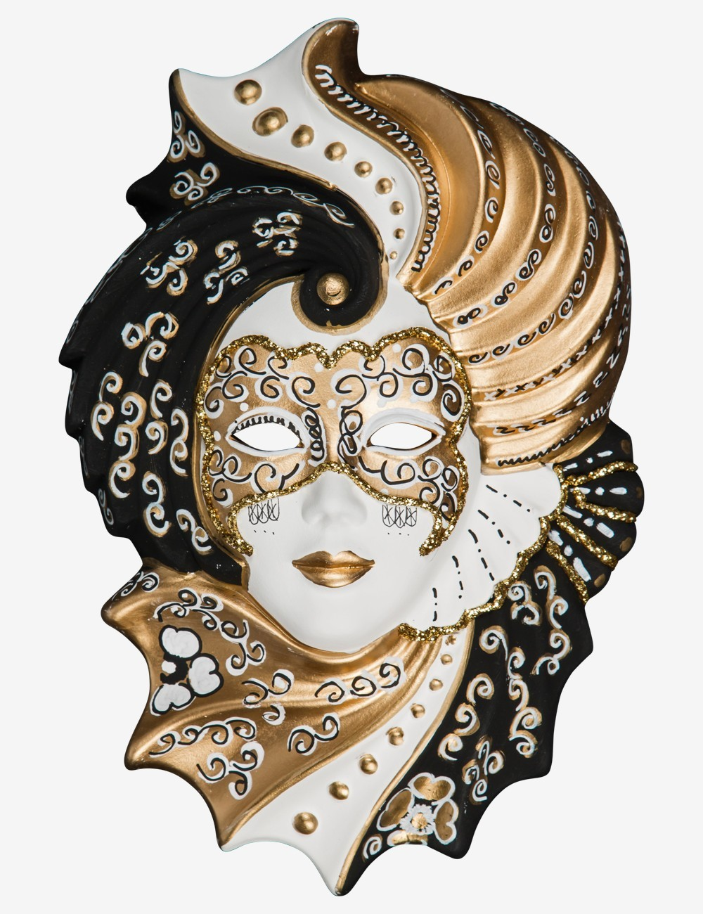 Gold Clorinda Masque vénitien