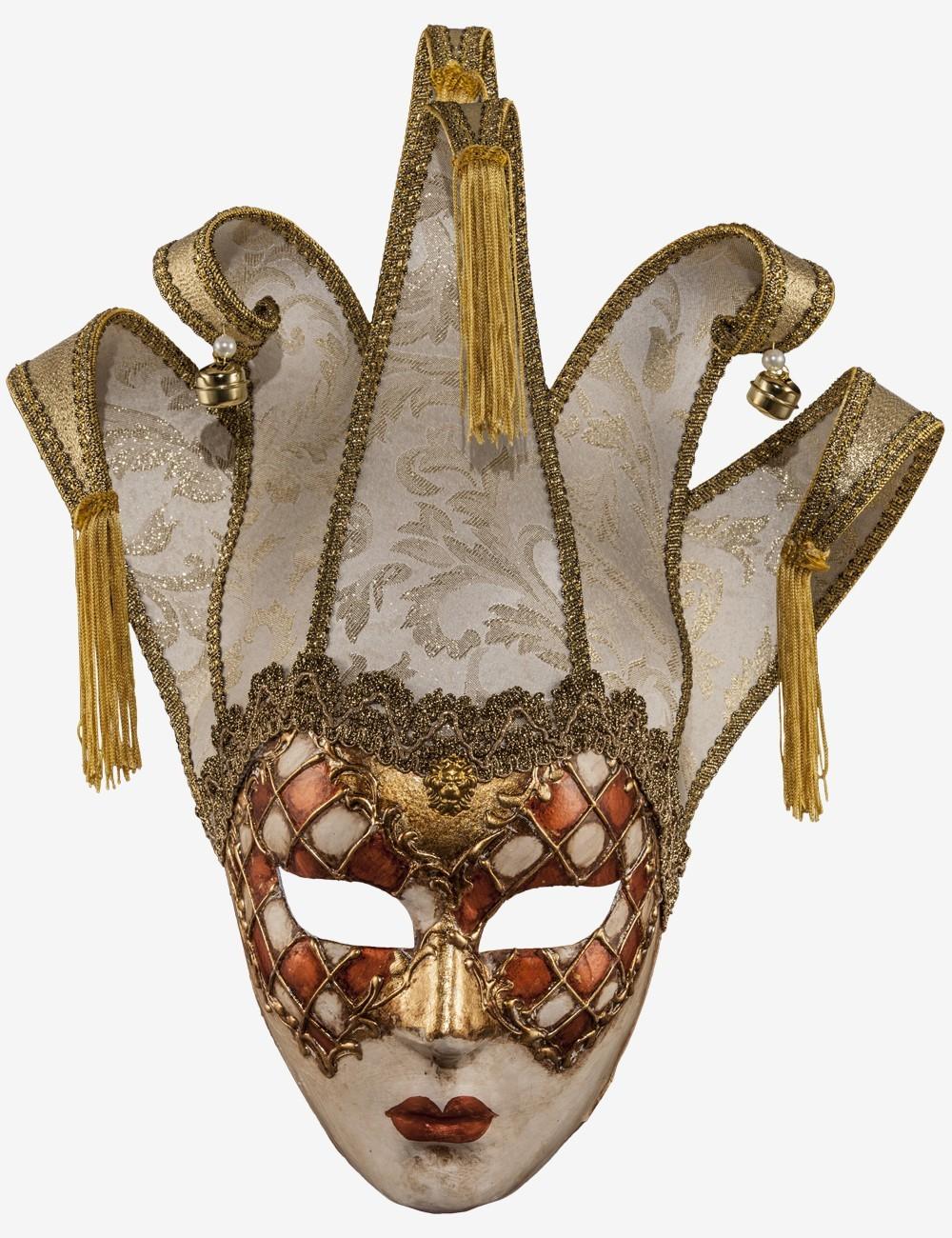 Masque Vénitien en papier mâché - Miranda