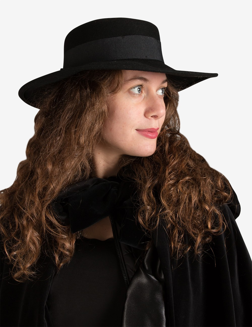 Cappello a Tesa Larga Donna | Vendita Cappello Carnevale ...