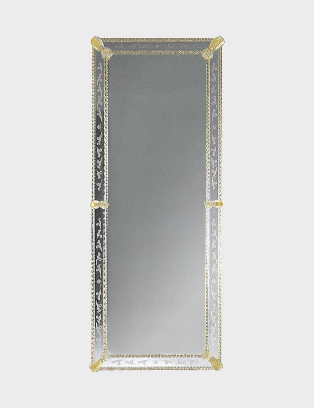 Hugo Venetian Mirror In Murano Glass