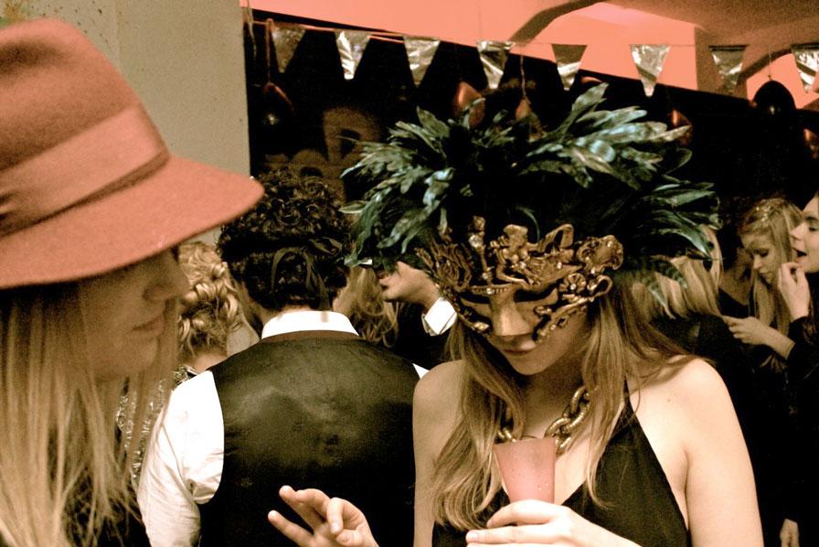 Venetian ball mask
