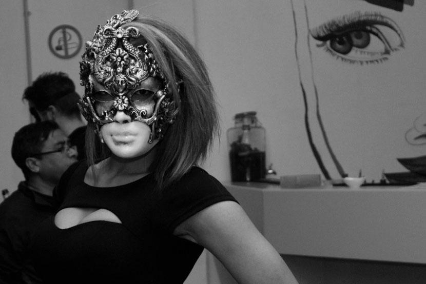 Venetian Baroque Style Mask